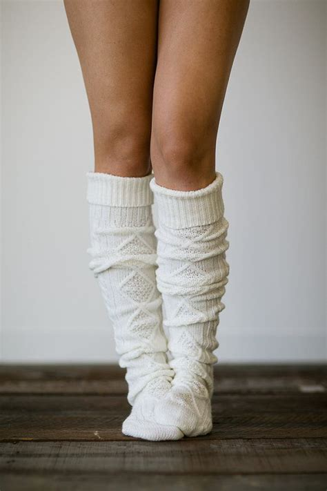cable knit socks for boots knitted slipper boot socks cable knit lounge hosiery socks