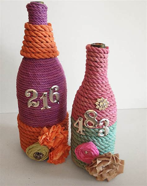 best craft 7 craft ideas using waste wine and other glass bottles