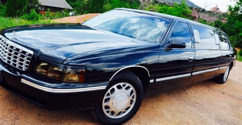 1999 Cadillac For Sale by Hail Damage 1999 Cadillac Limousine For Sale
