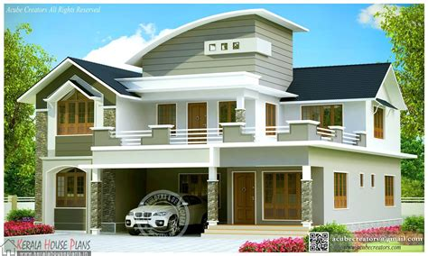 contemporary home plans and designs beautiful contemporary house design kerala kerala house