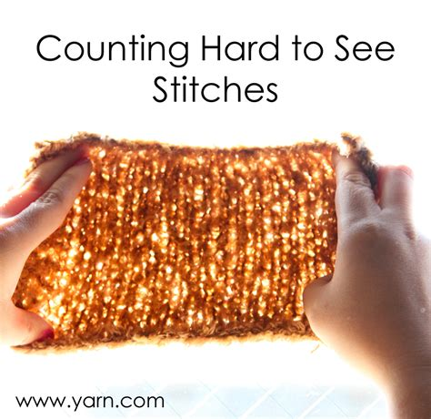 counting stitches in knitting webs yarn store 187 tuesday s tip how to count