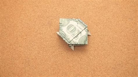 turtle dollar origami how to make a turtle out of a dollar bill 14 steps