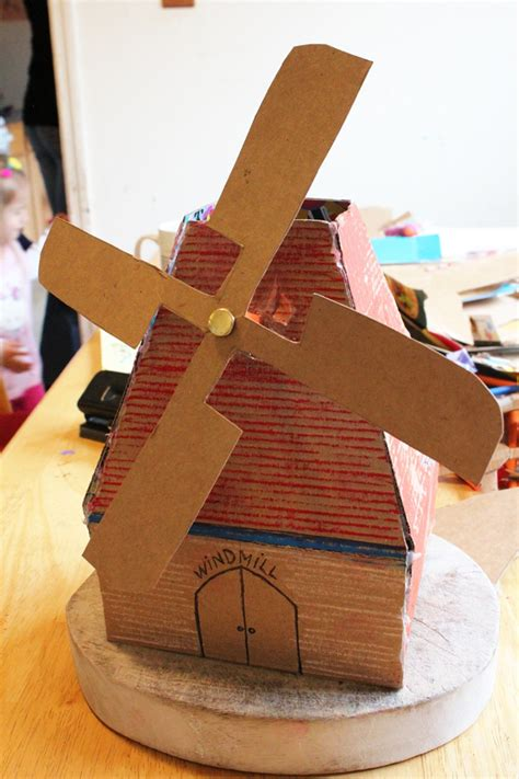 cardboard crafts for bright sparks national mills weekend