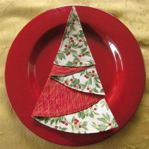 servietten falten weihnachtsbaum servietten falten weihnachten deko ideen archzine net