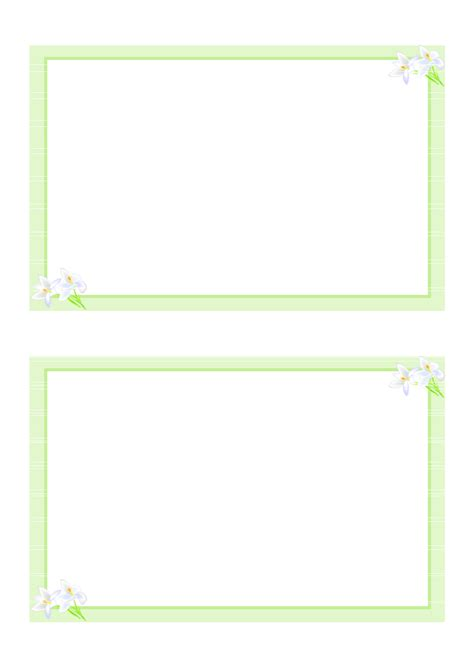 card downloads free templates printable blank card blank template