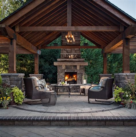 backyard wood patio best 25 outdoor fireplace patio ideas on diy