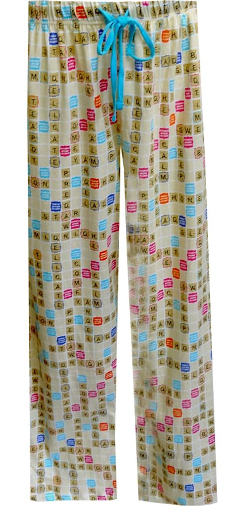 scrabble pajamas webundies scrabble board unisex lounge comfy