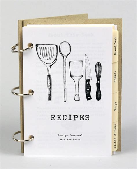 recipe book pictures beth bee books recipe book kitchen instruments at