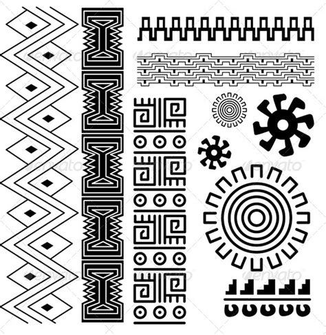 ancient american pattern by sateda2012 graphicriver