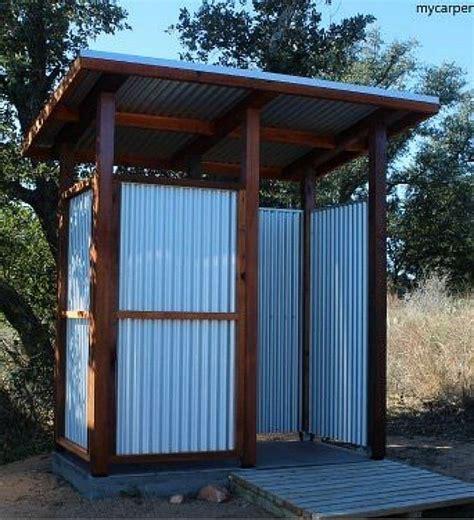 Eco Outdoor Toilet by Best 25 Outdoor Toilet Ideas On Pinterest Outdoor