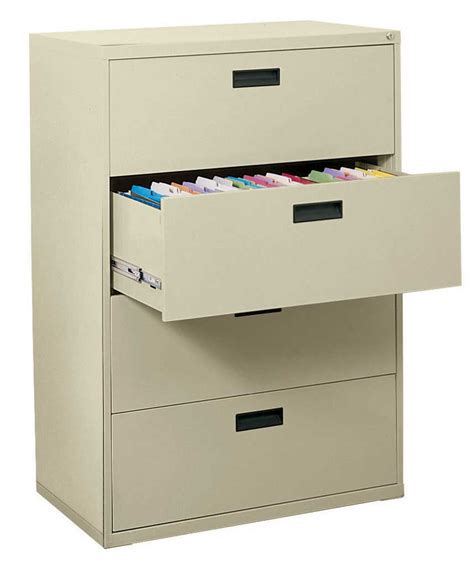 lateral drawer file cabinet 4 drawer lateral steel file cabinet by edsal in file cabinets