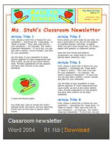 free newsletter templates for word 2007 newsletter templates for word