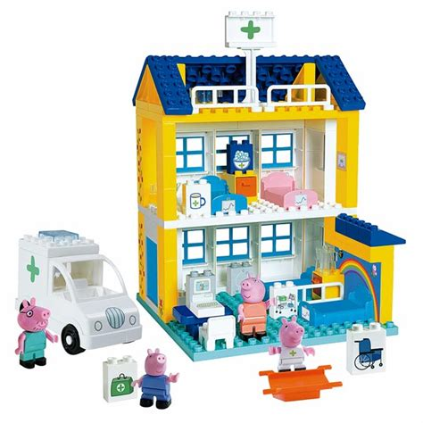 peppa pig hopital smoby king jouet lego planchettes