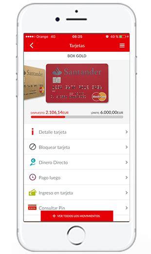 banca movil santander app wallet particulares banco santander