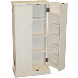kitchen pantry cabinet free standing white wood utility