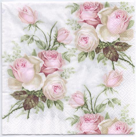 decoupage napkin decoupage napkins pastel bouquet design dinner