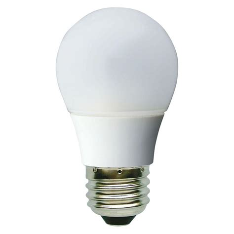 led light bulbs for the home ge 40w equivalent daylight 5000k a15 white ceiling fan