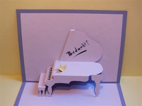 how to make pop out cards for a birthday piano pop up card 183 how to make a pop up card 183 papercraft