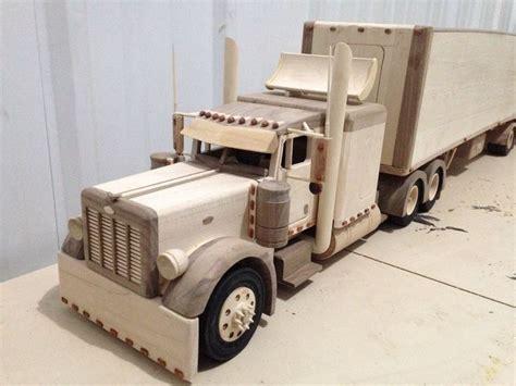 woodworking models peterbilt truck wooden toys trucks