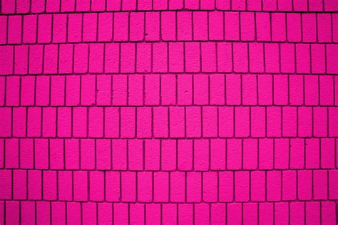 pink brick wall pink brick wall texture with vertical bricks picture