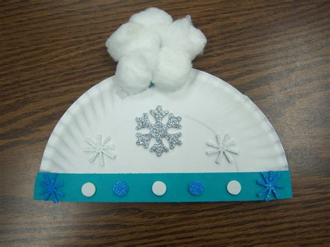 winter craft snow storytime