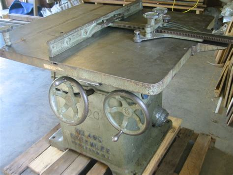Greenlee Brothers Co Serial Number Registry Table Saw