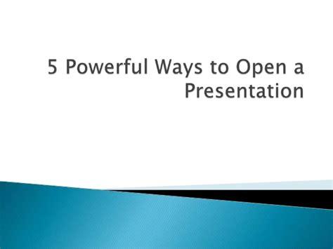 opening speech effective speech opening and closing