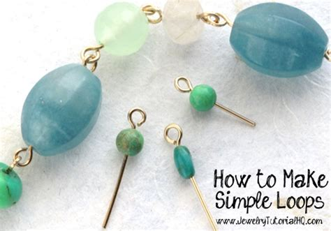 easy jewelry to make how to make simple wire loops jewelry basics
