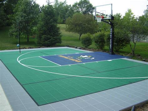 backyard sport courts backyard courts home gyms sport court of st louis