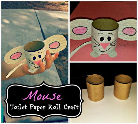 crafts to do with toilet paper rolls easy mouse toilet paper roll craft for crafty morning