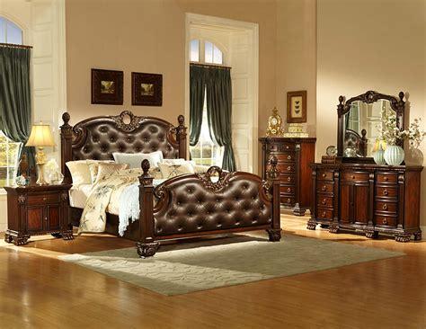 orleans bedroom furniture homelegance orleans bedroom set cherry b2168 bed set