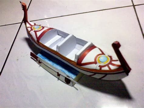 boat paper craft boat free paper model papermodels