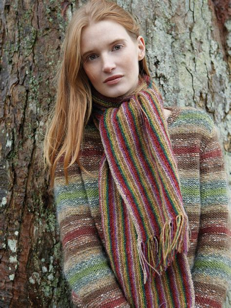 knitting wool india india scarf pattern knit rowan