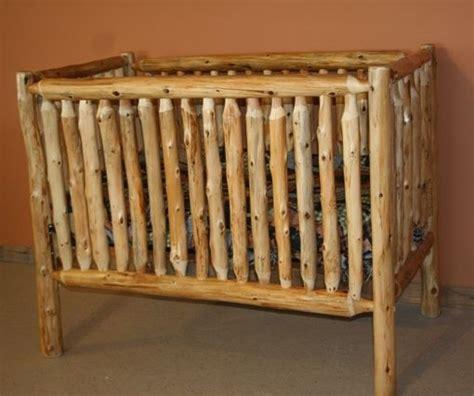 log baby cribs log furniture barnwood furniture rustic furniture