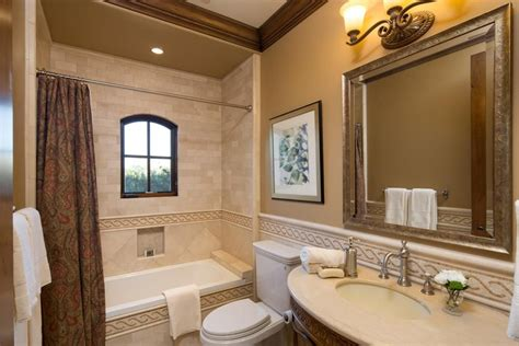 traditional bathrooms designs traditional bathroom with tiled wall showerbath