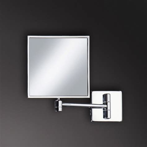 wall mounted magnifying mirrors for bathrooms magnifying bathroom mirrors wall mounted chrome wall