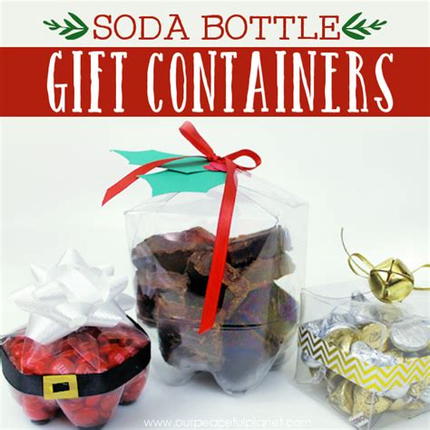 gift wrapping ideas soda bottles