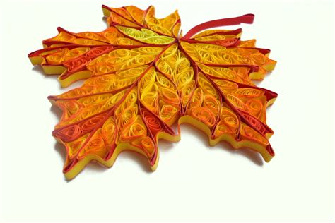 quilling decorations quilled home decor fall decorations autumn by paperdreamland