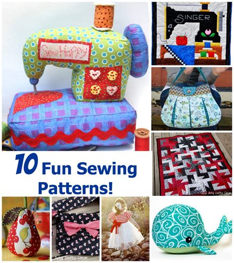 sewing crafts for sewing machine day a look at 10 sewing patterns
