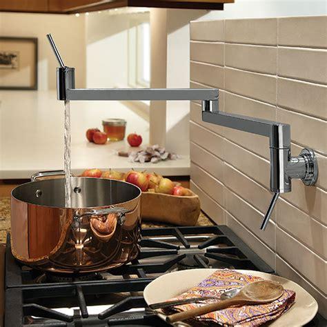 pot filler kitchen faucet pot fillers contemporary pot filler kitchen faucet from dxv