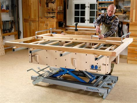 woodworking assembly table einemann assembly table mt1 4 woodworking assembly