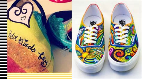 can you use acrylic paint on canvas shoes diy painted shoes 2 minute tutorials