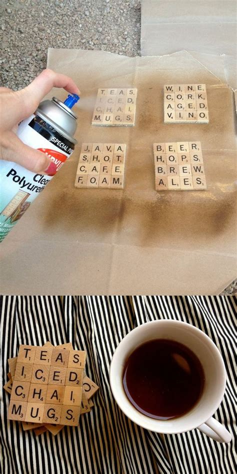 scrabble tips and tools scrabble scrabble coasters and diy coasters on