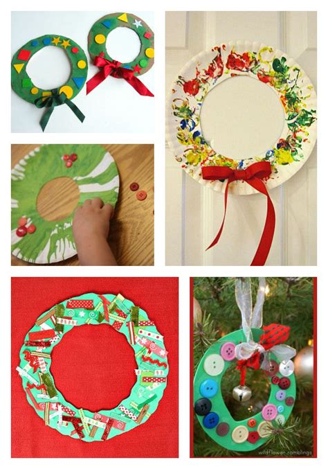 craft projects for 6 year olds 39 activities for 2 and 3 year olds wreaths