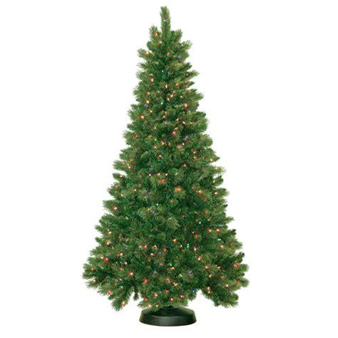 walmart trees artificial pre lit 7 5 royal mixed artificial tree 600