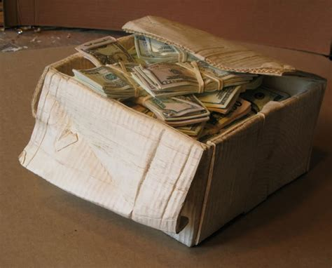 woodworking for money wooden box of money ar15