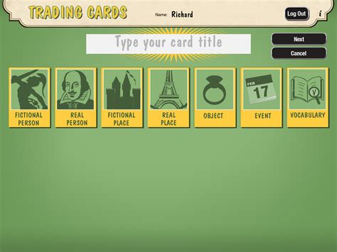 make trading cards free free technology for teachers create trading cards for