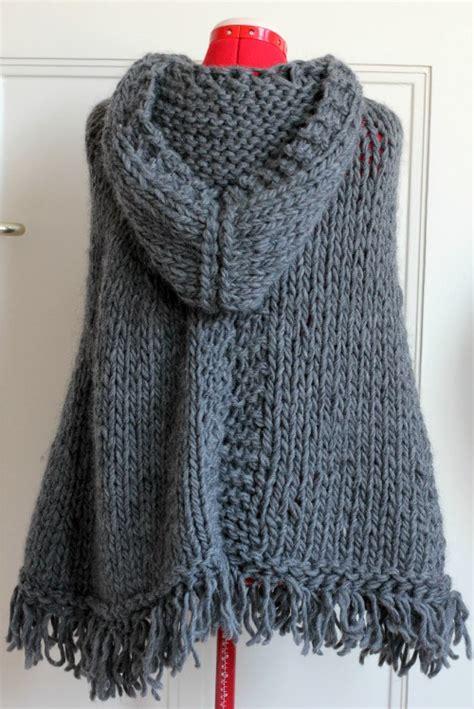 tricoter un poncho en
