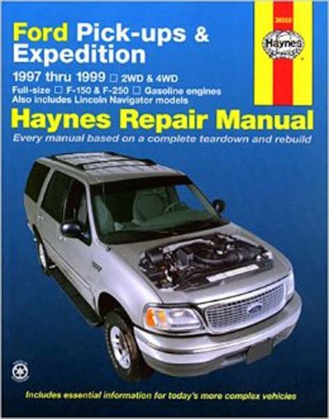 free service manuals online 2002 ford expedition user handbook 1999 ford expedition owners manual free