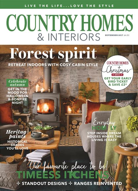 country home and interiors magazine country homes interiors november 2017 free pdf magazine